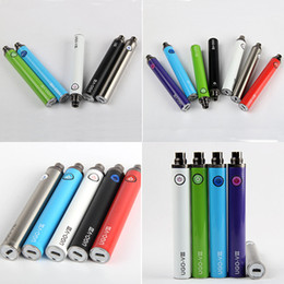 Ego T Bottom Australia - eGo T UGO V3 Micro USB E Cigarette Vape Pen Battery 510 1300mah Evod Passthrough Batteries Bottom Charge with usb Charger