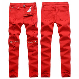 Red Skinny Jeans For Men Online | Red Skinny Jeans For Men for Sale