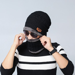 $enCountryForm.capitalKeyWord NZ - DHL fee Hooded Windproof beanie for man Youth Outdoor Fashion Warm Thicker Knit Woolen Hat for mens woman soft winter beanie hat wholesale