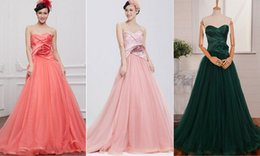 Pictures Lace Red Evening Dresses NZ - robe de soiree red Long Prom Dresses 2018 flowers lace up a-line sexy sweetheart evening dress vestido de festa Formal gown