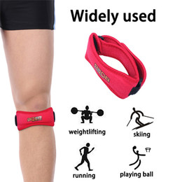 knee pain strap UK - Winter Patella Knee Brace Support Belt for Knee Pain Relief Strap Protection Keep Warm Protect your Knee From the Cold