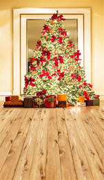 christmas tree spray Canada - Merry Xmas Photography Backdrops Indoor Sparkling Christmas Tree Family Gift Boxes Winter Holiday Kids Children New Year Photo Background