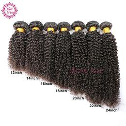 Chinese  Kinky Curly Virgin Hair Brazilian Virgin Human Hair Afro Kinky Curly Virgin Hair 3 Bundles Lot Brazilian Kinky Curly Weave manufacturers
