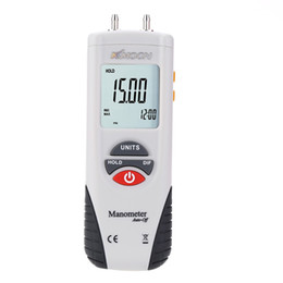 pressure gauge manometer 2021 - Freeshipping Handheld High Performance Manometer Air vacuum Pressure Gauge meter Differential Digital Manometer manometro presion