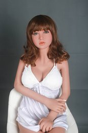 online shopping 140cm real Size Solid Lifelike Japan Sex Doll Real Sex Toy Doll Full Silicone Life Sized Real Sex Doll For Man