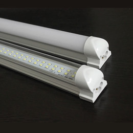 $enCountryForm.capitalKeyWord Canada - New Arrival Integrated T8 4FT 8FT Led Tube Lights 28W 65W Double Rows SMD2835 Led Fluorescent Lights 170Angle AC85-265V CE UL