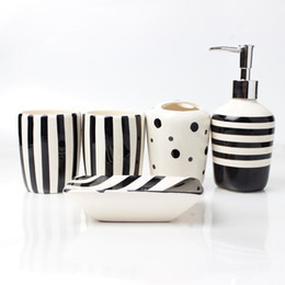 ceramic bathroom set five piece of bathroom item fashion holder bathroom accessories ceramic bathroom accessories sets on sale