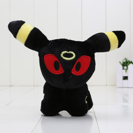 Discount made toys china - 5'' Pikachu Umbreon Plush Doll Toy Umbreon Stuffed Plush Christmas Gifts For Children Made In China