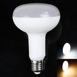Spotlight bulb typeS online shopping - High Quality W W W W W W Led spotlight E27 dimmable led Type R bulbs Mushroom lamp light V warm cold White