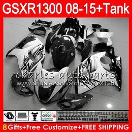 Pink fairings online shopping - 8Gifts Colors For SUZUKI Hayabusa GSXR1300 white black NO76 GSXR GSX R1300 Fairing Kit