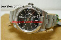 Wrist Watch Shipping Box NZ - Free Shipping Luxury Watches Classic Automatic Movement Ladies Watch Box Papers Watch Wrist Watches