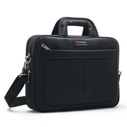 China Wholesale- DB89 New Arrival Brand High Quality Man Computer Bag Briefcase Large Capacity Business Laptop Bag Shoulder Messenger Briefcase supplier new brand cell phone suppliers