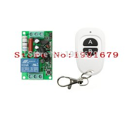 Wholesale AC V A channel RF Wireless Remote Control Receiver Transmitter Household lighting system