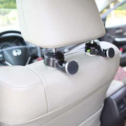 Tablet автомобильные кронштейны подголовник колыбель заднего сиденья магнитное крепление автомобильный держатель для ipad для мобильного телефона, автомобиль вешалка крюк организатор