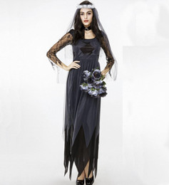 Wholesale sexy women cosplay costumes for sale - Group buy Character Cosplay Costumes Women Sexy Costume Halloween Costumes Masquerade Party Black Lace Club Black Dresses Clothes