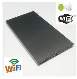 H 264 power bank online shopping - 1080P H WiFi Mah Battery External Power Bank Camera IR Night Vision p big battery camera