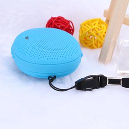 Discount smallest portable speakers for iphone 2017 T1 Bluetooth Stereo Smart Wear Watches Speakers Sound Waterproof outdoor subwoofer Small For iphone samsung HTC Spe