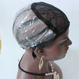 $enCountryForm.capitalKeyWord NZ - Machine Made wig caps For Making wigs with adjustable straps Weft back inside inner caps net for wig making