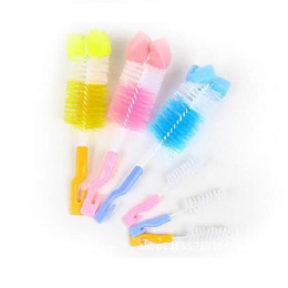 bag offers 2019 - Special offer bags the size of the sponge baby bottle nipple brush nylon brush for cleaning articles discount bag offers