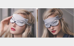 $enCountryForm.capitalKeyWord Canada - Fashion double-sided silk breathable shading help sleep little fox head embroidery imitation silk eye mask female