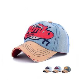 EyE hats online shopping - Best gift Spring and Autumn Cowboy Baseball Cap Men s Eyes Sticks Embroidery Letter Hat Hoodie DMB077