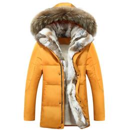 Parkas Women S Outerwear Canada - Wholesale- Men Women Lovers'Coat Fleece Thicken Warm Fur Collar Down Jacket Parkas Hooded Furs Padded Outerwear Coats Large Size S-5X Y2044