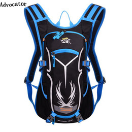 Women hydration backpack online shopping - Advocator L Hydration Men Backpack Travel Waterproof Nylon Women Backpack with L Water Bag Striped Multifunctional Mochile