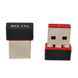 Al por mayor- 2017 Howest Mini Ralink 5370 150Mbps Adaptador de WiFi inalámbrico USB adaptador de tarjeta de red LAN con CD de controlador