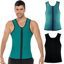 608eb53f1a91b New Mens Slimming Vest Neoprene Body Shaper Men Slimming Belt Corset  Posture Waist Trainer Slim Corsets Shapers