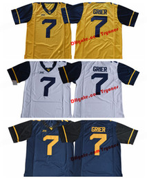 Discount west virginia jerseys - 2017 West Virginia Mountaineers Will Grier  7 College Football Jersey Blue e3feab31a