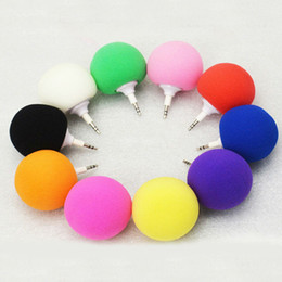 Wholesale Portable Colorful mm Sponge Ball Music Mini Audio Speaker for Tablet Mobile Phone Laptop MP4
