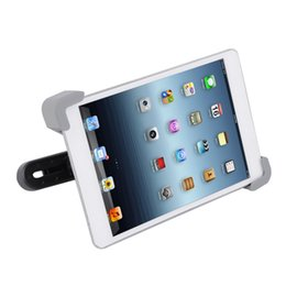 car mount tablet pc holder 2019 - HOT 360 Degree Car Mount Back Seat Headrest Holder Stand Bracket For iPad 2 3 4 5 7-11 Inches Auto Tablet PC Bracket Kit