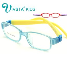9af2de3b7838 Wholesale- IVSTA 8813 No Screw Flexible TR Kids Optical Frame Eyeglasses  Girls Glasses Cute cartoon Rubber Sleeve for Children prescription