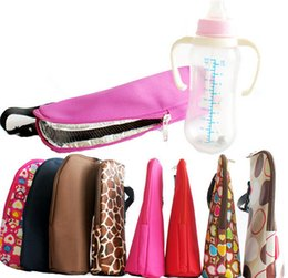 bottle tote bags NZ - Portable Baby Thermal Feeding Bottle Warmer Mummy Tote Bag Hang Stroller