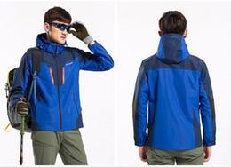 Windbreaker Orange NZ - Men Women Lovers Hiking jacket Waterproof Jacket Outdoor Men's Windbreaker Warm Ski Camping hot sell best quality