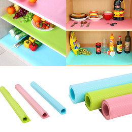 Oil candy online shopping - Cupboard Mat Can Cut Moisture Proof Anti Oil Cabinet Mats Candy Color Drawer Cushion Non Slip Washable Wardrobe Pad WX C09