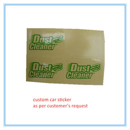 Car Transparent Stickers NZ - custom high quality clear PVC car sticker latest transparent label sticker waterpoof self adhesive sticker
