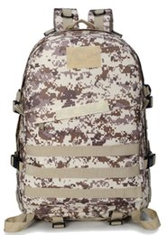 Camouflage Day Backpacks Canada - 3D Army Camouflage Design backpack Travel Bag Pupils Outdoors Shoulders Bag