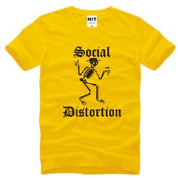 05c21271d3e High Quality SOCIAL DISTORTION T Shirts Men Pure Cotton Short Sleeve O Neck Mens  T-Shirt Punk heavy metal Rock Male Top Tees Hot