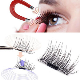 $enCountryForm.capitalKeyWord NZ - New arrival hand made silk magnet cross thick false eyelashes 3D magic reusable magnetic eyelashes Free DHL