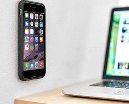 Anti-gravité magique Nano-adsorption téléphone portable Coque Coque Arrière Pour Iphone 5 7 6 6 S Plus Anti-chute TPU Couverture Cas en Solde