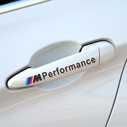 Vente en gros autocollant de voiture porte de voiture réfléchissante poignée de main pour E34 E36 E60 E90 E46 E92 BMW E39 X3 X5 X1 X6 accessoires style de voiture