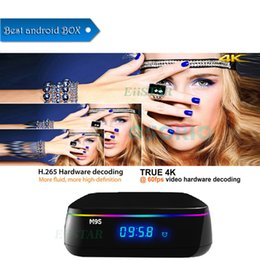 Tv Androids Octa Core Canada - M9S MIX Smart Android Boxes S912 Octa-core Android 6.0 Bluetooth IPTV 1000M LAN Dual-band wifi OTT TV Boxes