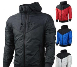 Barato Roupa Dos Homens Quentes-Hot Sale Frete grátis New Man Spring Autumn Hoodie Jacket homens Mulheres Sportswear Vestuário Windbreaker Coats sweatshirt suituit