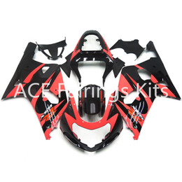 fairings for UK - 3 free gifts New Hot ABS Injection motorcycle Fairing kits 100% Fit For Suzuki GSXR600 GSXR750 K1 00-03 2000 2001 2002 2003Pink black style