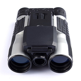 Wholesale 12x32 HD Binocular Telescope digital camera MP digital camera TFT display full hd p telescope camera