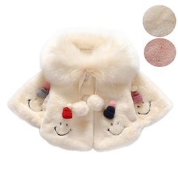 Barato Bebês De Roupas Térmicas-1PC Baby Girls Faux Fur Coats Winter Princesa Kids Casacos de moda Children Brand Thermal Casacos de pele Tops Thick Warm Clothes