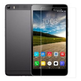 """Screen Lenovo Tablet Lcd NZ - Wholesale- 5pcs lot PET Clear LCD Front Screen Protector Guard Film For Lenovo PHAB Plus PB1-770N 6.8"""" Tablet PC"""