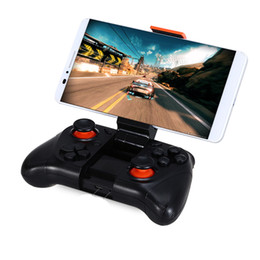 original controllers gamepad NZ - Original MOCUTE 050 Wireless Bluetooth Gamepad PC Game Controller for Smartphone TV Box With Built-in Foldalbe Holder Joystick