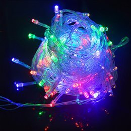 Strip home online shopping - festival decoration LED strip V US plug or V Eu plug xmas gift M LEDS waterproof IP65 home or outside use
